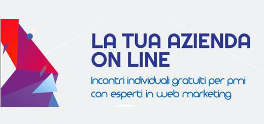 La tua azienda on line